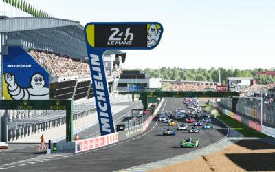 Barrichello dominates Le Mans as Montoya takes Legends Trophy Triple Crown title