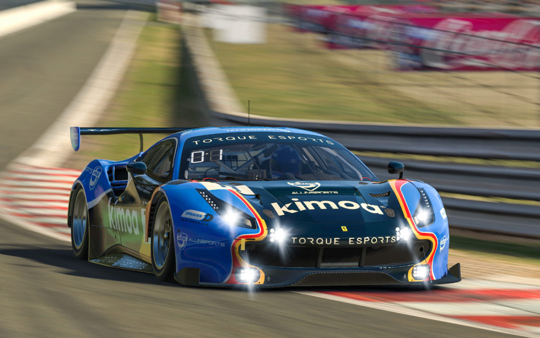 Alonso, Barrichello, Kanaan and friends team up with Allinsports for Spa 24 hour iRacing assault