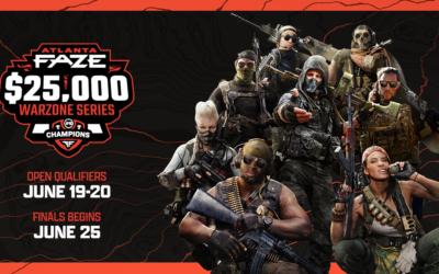 Atlanta FaZe & Engine Media's UMG Gaming Announce $25,000 Warzone Tournament Series