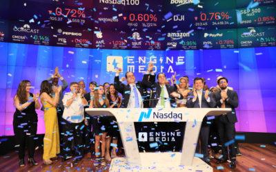 Engine Media to Ring Nasdaq Stock Market Closing Bell on July 8, 2021