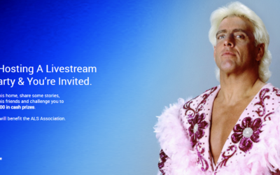 Engine Media's WinView Games Partners with Wrestling Legend Ric Flair to Create the Pre-Slam Livestream Party